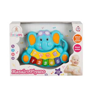 Babycim Sesli ve Işıklı Masalcı Piyano