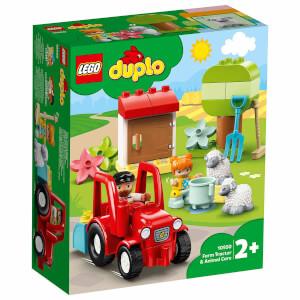 LEGO DUPLO Town Çiftlik Traktörü ve Hayvan Bakımı 10950