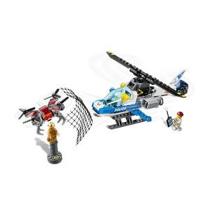 LEGO City Police Gökyüzü Polisi İnsansız Hava Aracı Takibi 60207