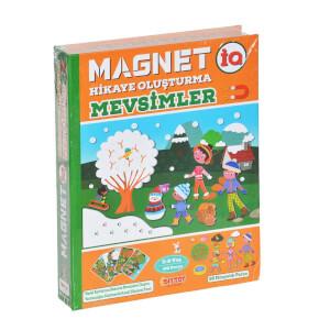 Manyetik Magnet Hikaye Oluşturma Mevsimler