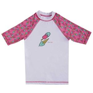 Slipstop Ice Cream UV Korumalı Çocuk Tişört