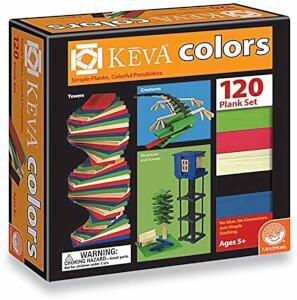 Keva Colors Ahşap Yapı Blokları 120 Parça