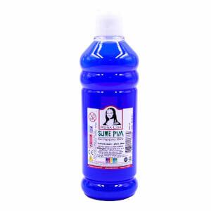Sıvı Yapıştırıcı Slime Jeli Fosforlu Mavi 500 ml