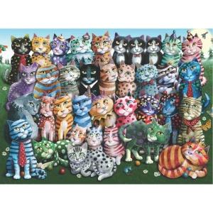1000 Parça Puzzle : Aile Toplantısı