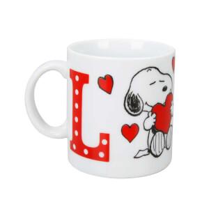 Snoopy Love Porselen Kupa