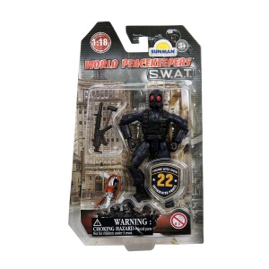 World Peacekeepers - 1:18 Polis Oyuncak Seti