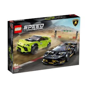 LEGO Speed Champions Lamborghini Urus ST-X ve Lamborghini Huracán Super Trofeo EVO 76899