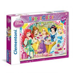 2 x 20 Parça Puzzle : Disney Princess