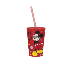 Mickey Mouse Pipetli Bardak 340 ml.