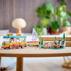 LEGO Friends Orman Karavanı ve Teknesi 41681