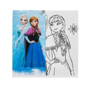Frozen Tuval Boyama Seti 15 x 15 cm.