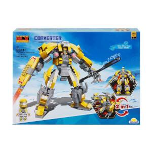 BLX Converter Dönüşebilen Robot 2 in 1 Serisi C0410