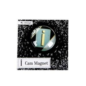 İ Harfi Cam Magnet