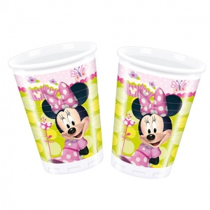 Minnie 8'li Plastik Bardak