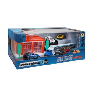 Maxx Wheels 5 Araçlı Garaj Seti