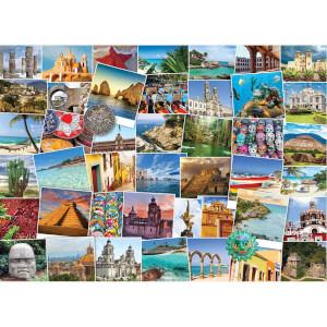 1000 Parça Puzzle : Globetrotter Mexico