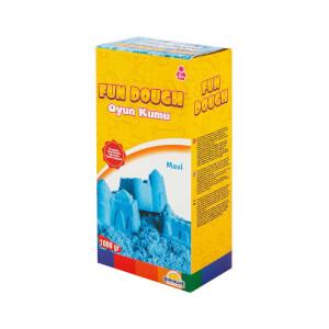 Fun Dough Kinetik Kum 1000 gr. Mavi