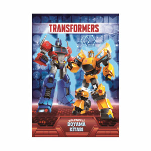 Transformers Eğlenceli Boyama Kitabı