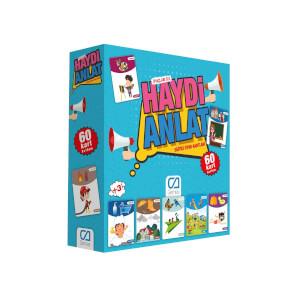 Haydi Anlat Eğitici Oyun Kartları