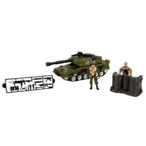 Sesli Ve Işıklı Askeri Tank Oyun Seti