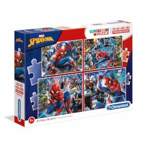20 + 60 + 100 + 180 Parça Puzzle : Spiderman