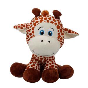 Oturan Zürafa Peluş 35 cm.