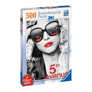 500 Parça Puzzle : Bouche Scintillante