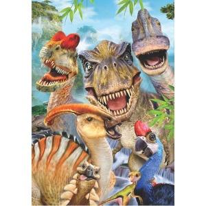 260 Parça Puzzle : Dino Selfie
