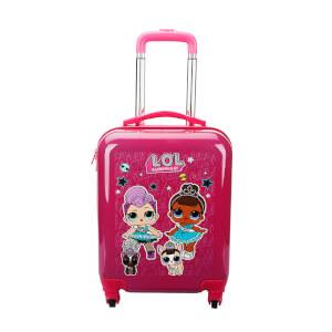 L.O.L Çekçekli Valiz Pembe 9800