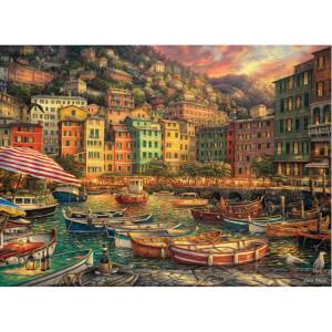 3000 Parça Puzzle : İtalyadan Titreşimler