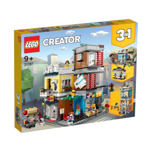 LEGO Creator Evcil Hayvan Dükkanı ve Kafe 31097