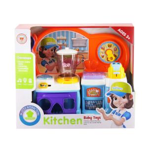 Mikserli Büyük Mutfak Fırınlı Set