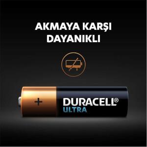 Duracell Ultra Kalem Pil AA 10'lu