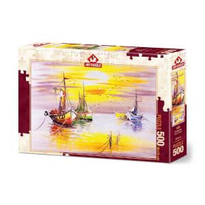 500 Parça Puzzle : Akşam Güneşi