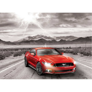 1000 Parça Puzzle : Ford Mustang Fifty Years Of Power