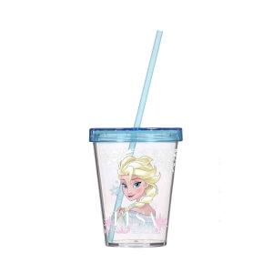 Frozen Elsa Pipetli Bardak Mavi 450 ml.