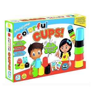 Colorful Cups Bardak Oyunu
