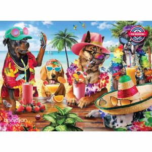 1000 Parça Puzzle : Tropikal Parti