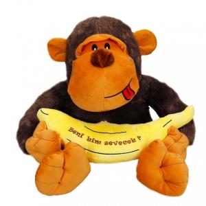Muzlu Goril Peluş 50 cm.