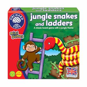 Orman Yılanları Ve Merdivenleri Oyunu
