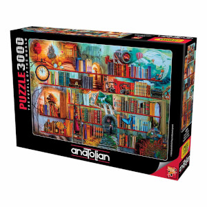 3000 Parça Puzzle : Gizemli Kitaplık