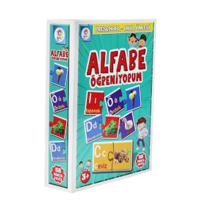 Alfabe Öğreniyorum Okul Öncesi Eğitim Seti 58 Parça