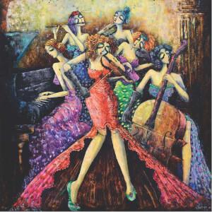 1024 Parça Puzzle : Kadınlar Orkestrası
