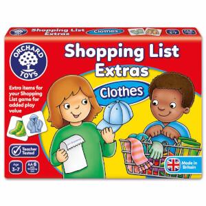 Alışveriş Listesi Ekstra: Giysiler