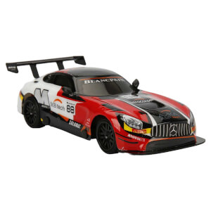 1:28 Uzaktan Kumandalı Mercedes AMG GT3 WRC Araba 17 cm.
