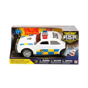Sesli ve Işıklı Kurtarma Ekibi Polis Arabası Oyun Seti