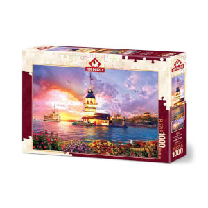 1000 Parça Puzzle: Kız Kulesi 5179