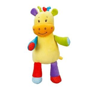 Babycim Çıngıraklı Renkli Peluş Hayvanlar
