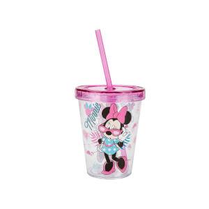 Minnie Pipetli Bardak Pembe 450 ml.