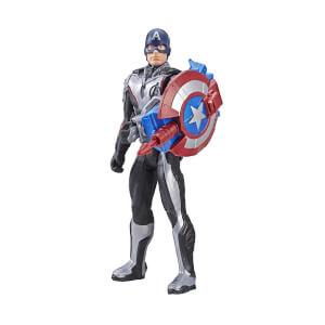 Avengers Endgame Titan Hero Power FX Captain America Figür 30 cm.